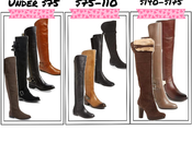 Great Over Knee Boots Under $175