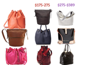 Leather Bucket Bags from $30-400