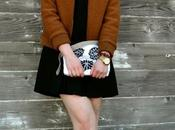 Look Day: Oasap Plaid Printed Luck Clutch