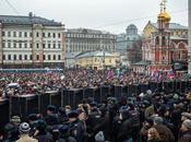 Boris Nemtsov Memorial March Draws Huge Numbers