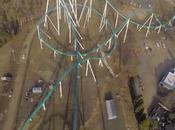 Terrifying Video Takes Ride World's Tallest Giga Roller Coaster