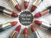 Oriflame Matte Lipsticks Swatches