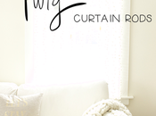 Make Gorgy Gorgeous Curtain Rods. It's Laughing Matter. Okay,