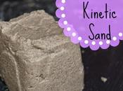 Kinetic Sand (Homemade) Tuff Spot Blog