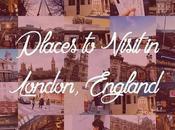 Places Visit London, England