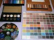 Editor's Pick Eyeshadow Palettes {Sephora, #flashmob, Color Workshop, Santee Cosmetics, E.l.f.}