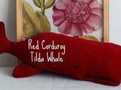 Corduroy Tilda Whale