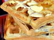 Banana Maple Waffles