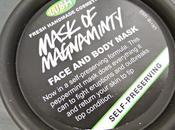 Lush Self-Preserving Magnaminty Face Body Mask