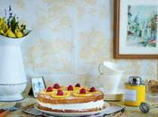 Whole Wheat Lemon Layer Cake with Rosemary Syrup Candied Lemons