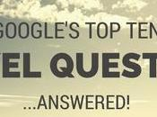 Google's Travel Questions 2014, Answered