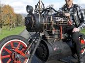 Badass Steampunk Motorcycle Gets Powered Steam Engine