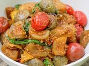 Stir-Fried Thai Eggplant Tomatoes