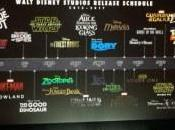 Walt Disney Movie Release Schedule Announced!