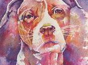 Watercolor Pour Bull