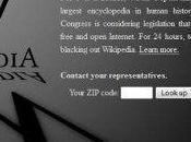 Wikipedia Blacked Protest SOPA: Worth