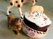 Animal Cracker Cupcakes