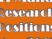 Mandi Research Positions 2015