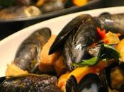 Vietnamese Mussels with Crispy Pork Belly