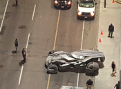 Batmobile Spotted Additional Images Suicide Squad Set!