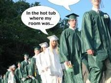Graduates: Don't Look Back… Because Your Room Already