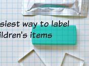 Easiest Label Children's Items