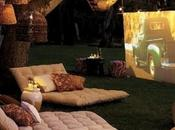 AWESOME Outdoor Movie Screen Ideas Summer