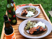 Grilling Some Tandori Chicken Dinner with C-Hopp. Putting...