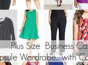 Plus Size Capsule Wardrobe Business Casual with Color