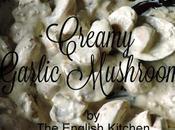 Ceamy Garlic Mushrooms
