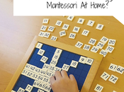What Montessori Method Start Using Home