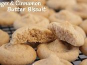 Ginger Cinnamon Butter Biscuit