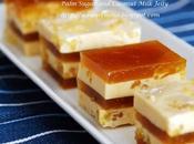 Palm Sugar Coconut Milk Jelly (Agar Agar Santan Gula Melaka 耶糖燕菜)