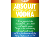 Absolut Celebrates with Pride Flag Bottle