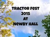 Tractor Fest 2015 Newby Hall