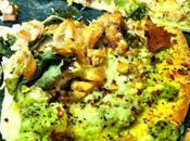 Green Tomato Pesto Pizza|REPOST