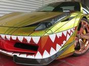 Weird Unusual Ferrari Paint Jobs