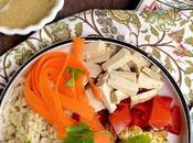 Roasted Cauliflower Rice Bowl