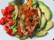 Beach Eats: Fajita Chicken Salad