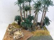 Midday Oasis, Diorama