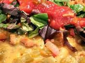 Vegan Green Chile Chicken Enchiladas