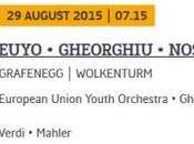 Just Announced, Concert Grafenegg Festival, August