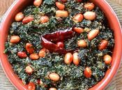 Posto Diye Palong Shaak Bhaja (Stir Fried Spinach with White Poppy Seeds)…green,green, Gone!!