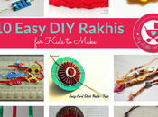 Simple Handmade Rakhi Ideas Kids Make