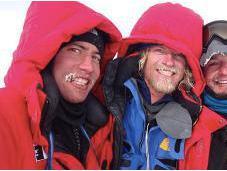 Antarctica 2011: Cas, Jonesy, Aleks Done!