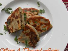 Meat Filled Envelopes Murtabak (Malaysia) Tavaa Roti, Mughlai Paratha (India)
