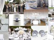 Inspiration Board: Silver Gray Wedding