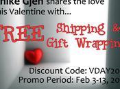 Valentine Promo: Free Shipping Gift Wrapping Unike Gjen!