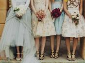 Bridesmaid Wedding Trends, THEN NOW!