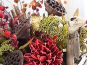 Creating Driftwood Thanksgiving Centerpiece